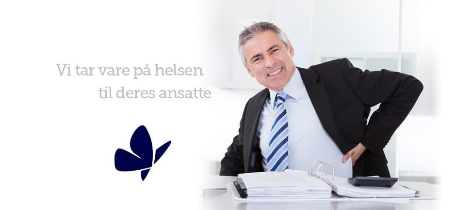 Behandling på jobben - Kropp og Helseklinikken Gjøvik