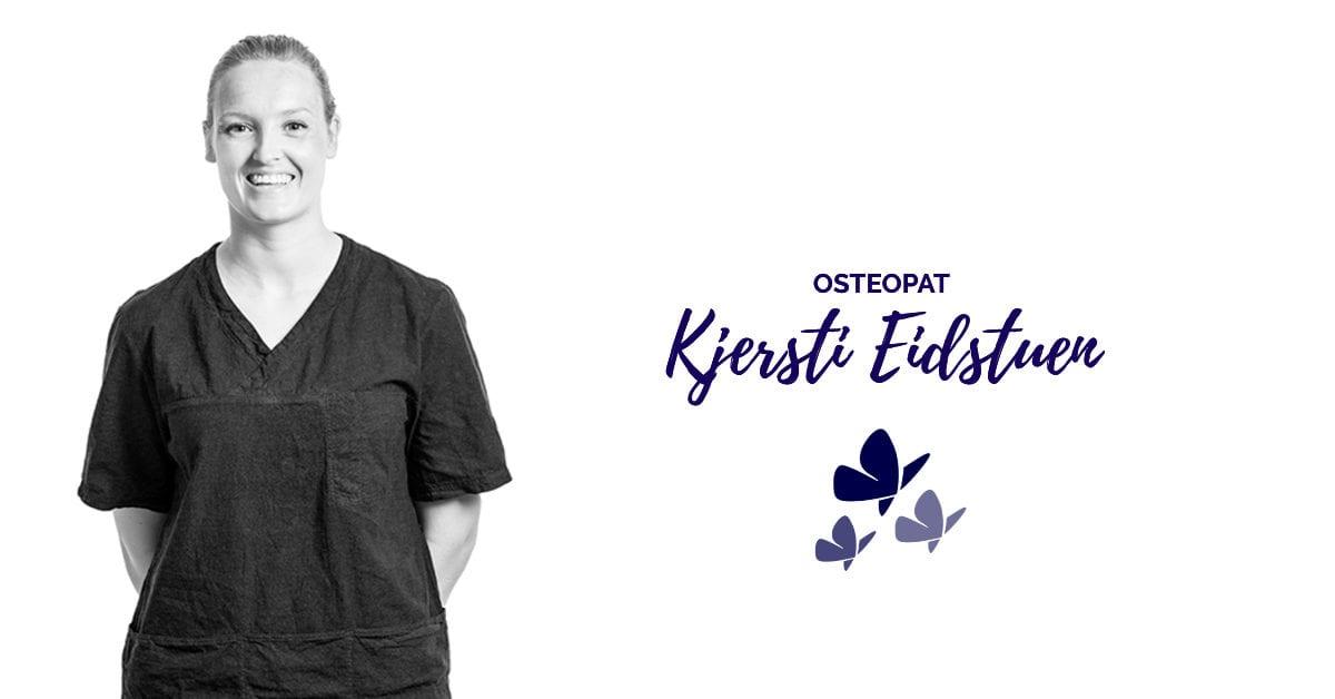 Kjersti Eidstuen - Osteopat hos Kropp og Helseklinikken på Gjøvik