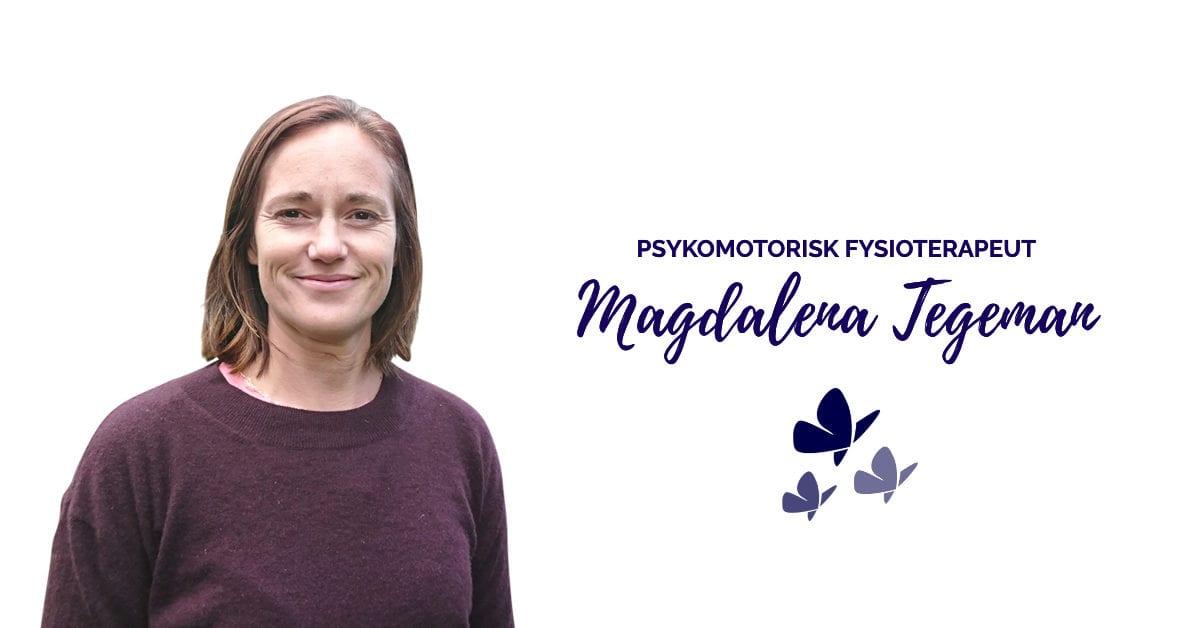 Magdalena Tegeman - Psykomotorisk Fysiotereapeut hos Kropp og Helseklinikken på Gjøvik
