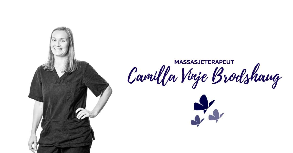 Camilla Vinje Brodshaug tilbyr også muskelterapi i Rudsbygd - Kropp og Helseklinikken
