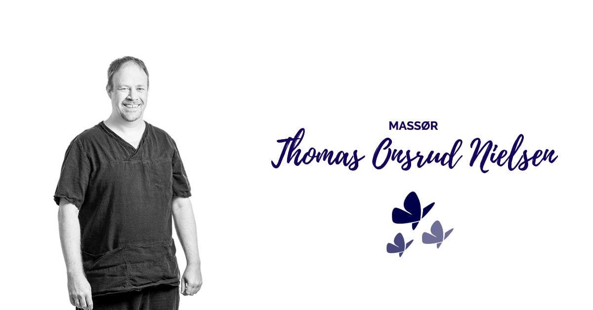 Massør Thomas Onsrud Nielsen tilbyr idrettsmassasje og klassisk massasje hos Kropp og Helseklinikken på Gjøvik