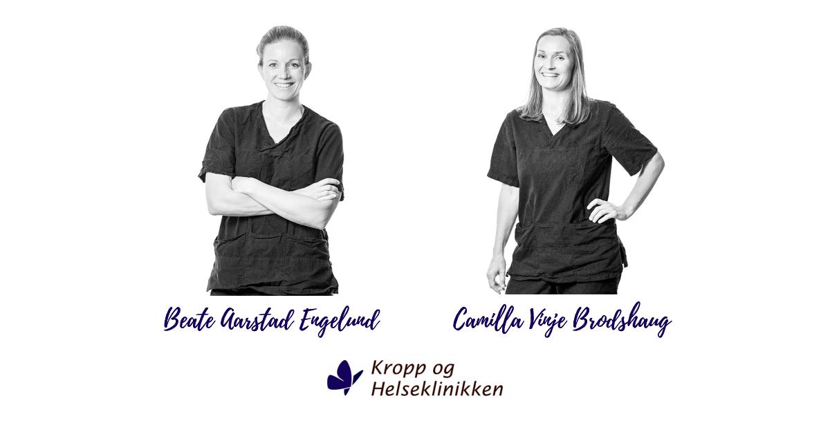 Beate og Camilla - Kropp og Helseklinikken Gjøvik