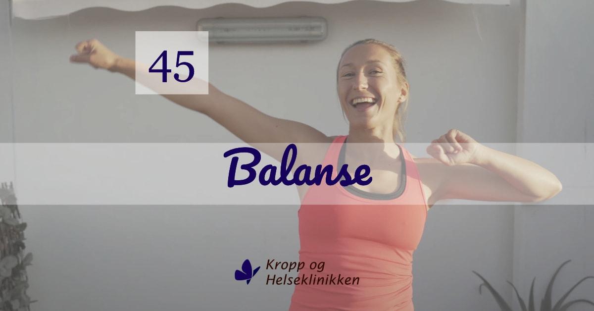Ukens treningsøkt - Uke 45-2020 - Kropp og Helseklinikken AS, Gjøvik