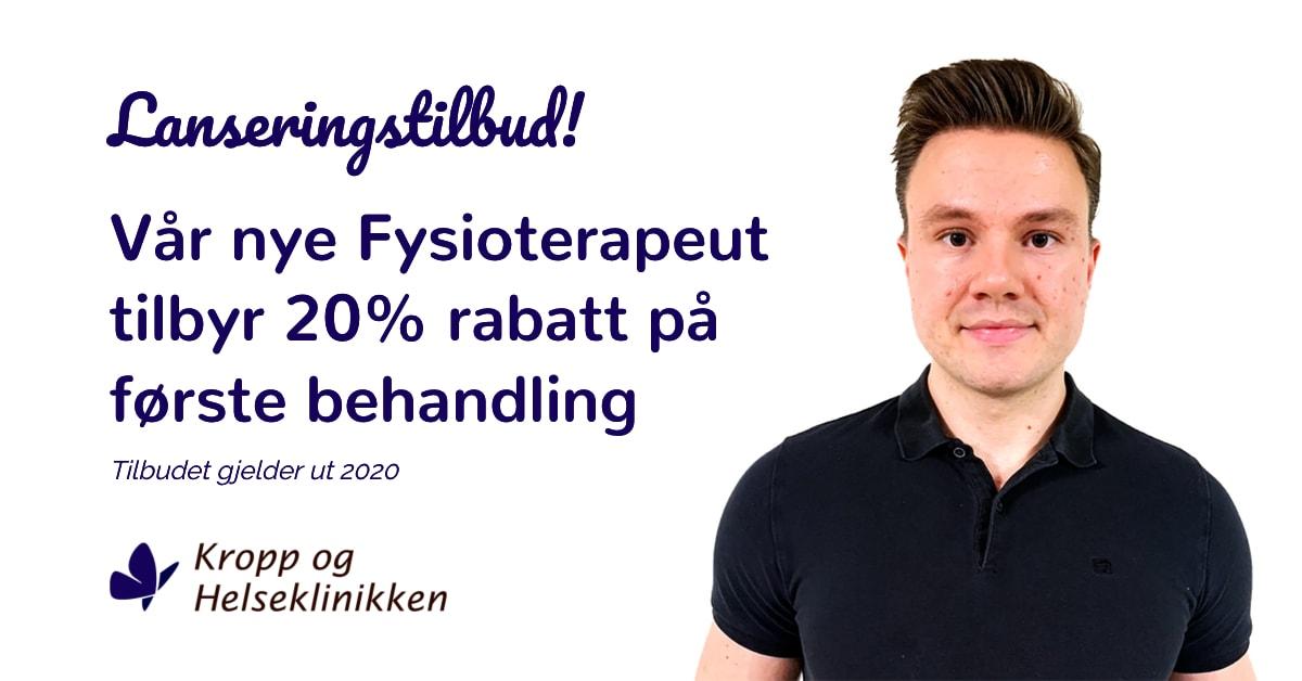 Lanseringstilbud fysioterapi 2020 - Kropp og Helseklinikken AS, Gjøvik