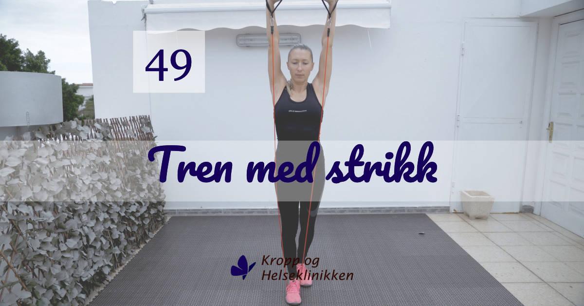 Ukens treningøkt 49/2020 - Kropp og Helseklinikken, Gjøvik