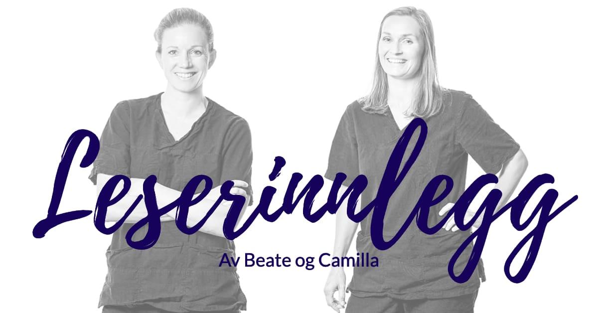 Leserinnlegg - Kropp og Helseklinikken