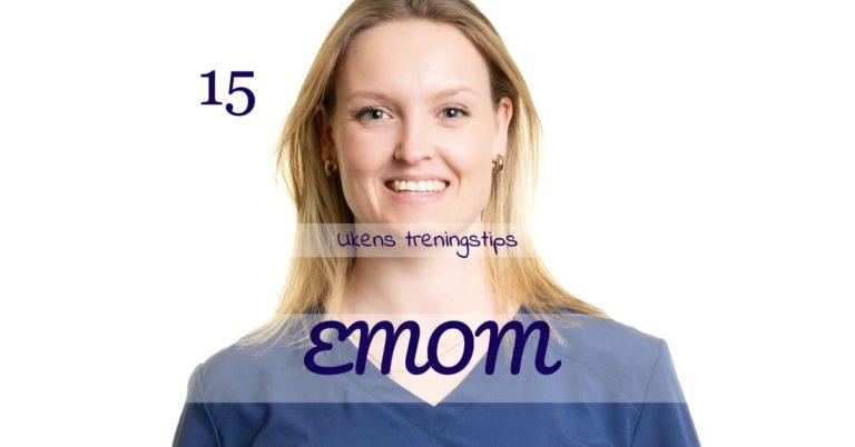 Ukens treningsøkt - EMOM - Kropp og Helseklinikken
