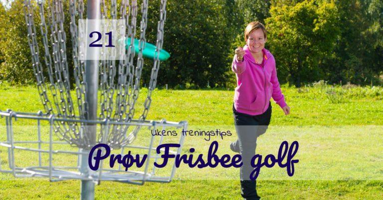 Frisbee golf - Kropp og Helseklinikken Gjøvik