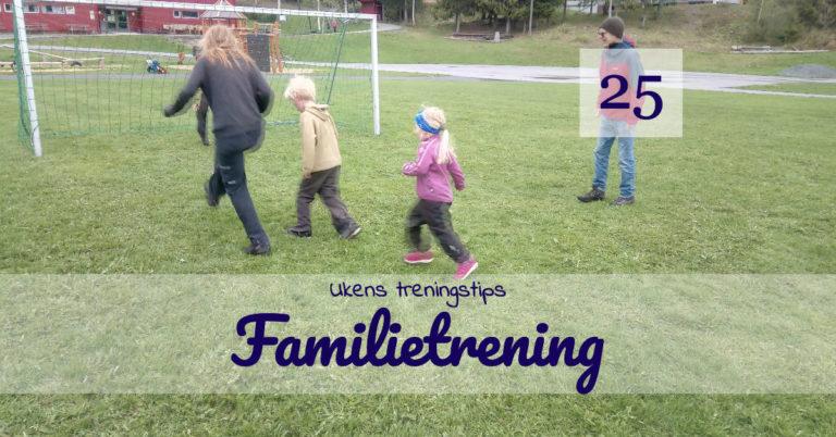 Ukens treningsøkt - Familetrening - Kropp og Helseklinikken Gjøvik