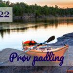 Ukens treningsøkt - Prøv padling - Kropp og Helseklinikken