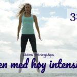 Ukens treningsøkt - Høy Intensitet - Kropp og Helseklinikken
